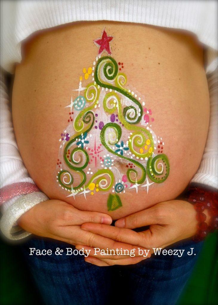 Pregnant Belly Art Ideas