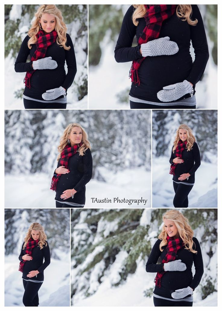 Inspiration For Pregnancy And Maternity Winter Snow