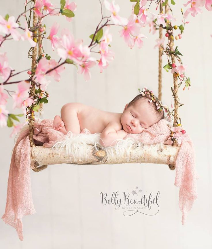 Description newborn baby girl
