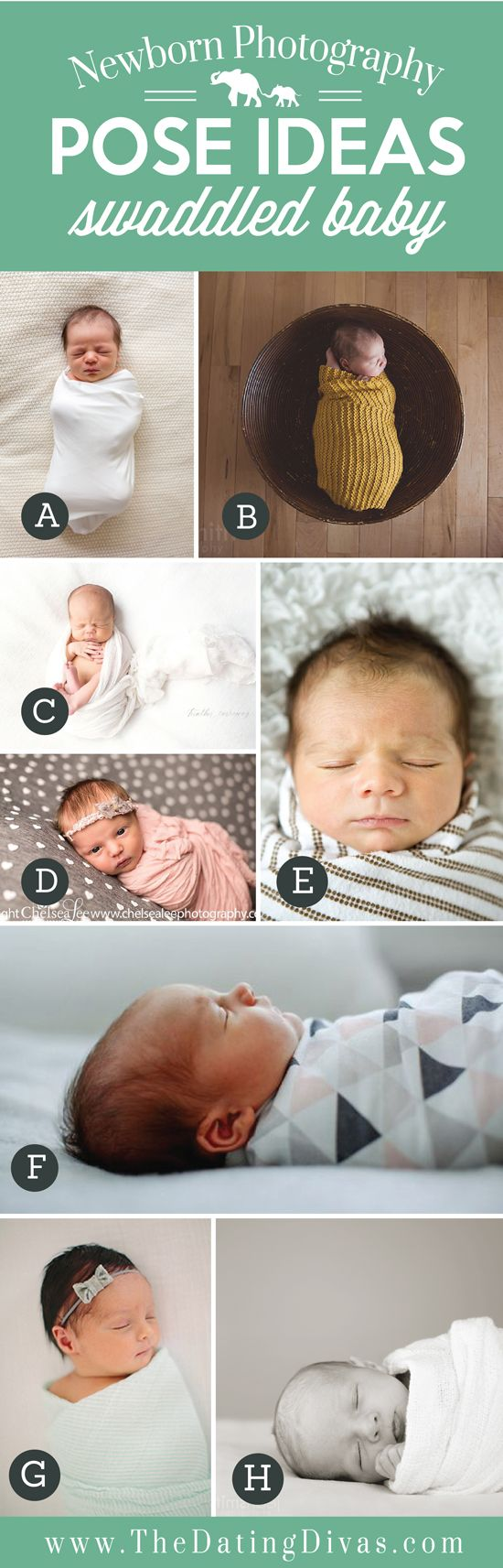 Description Precious Newborn Photography Pose Ideas With Swaddled Baby