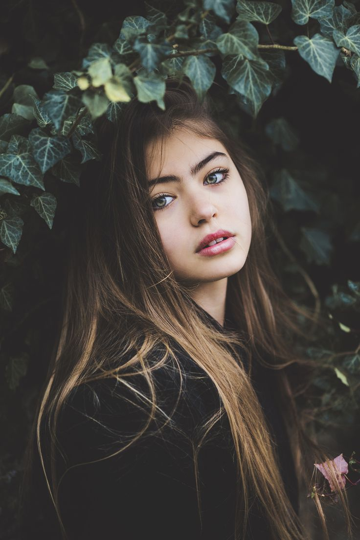 Portrait Photography Inspiration Beautiful Girl With Green Eyes