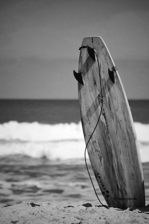Black White Photography Inspiration Surfing Black And