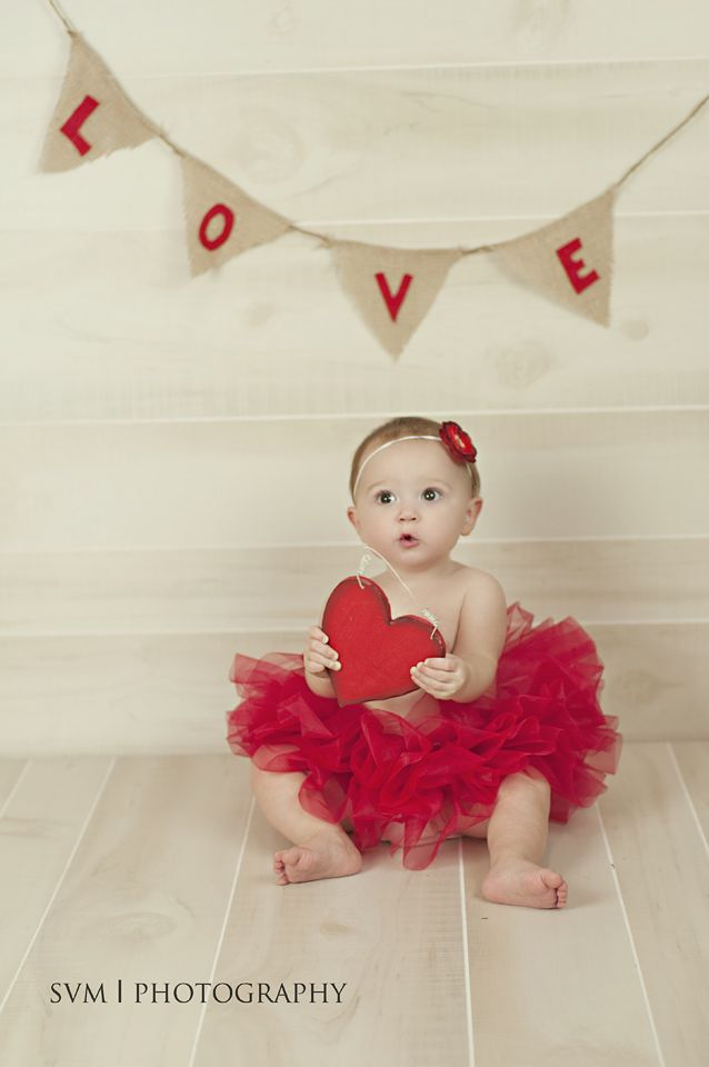 Inspiration For New Born Baby Photography Valentines Day Photo