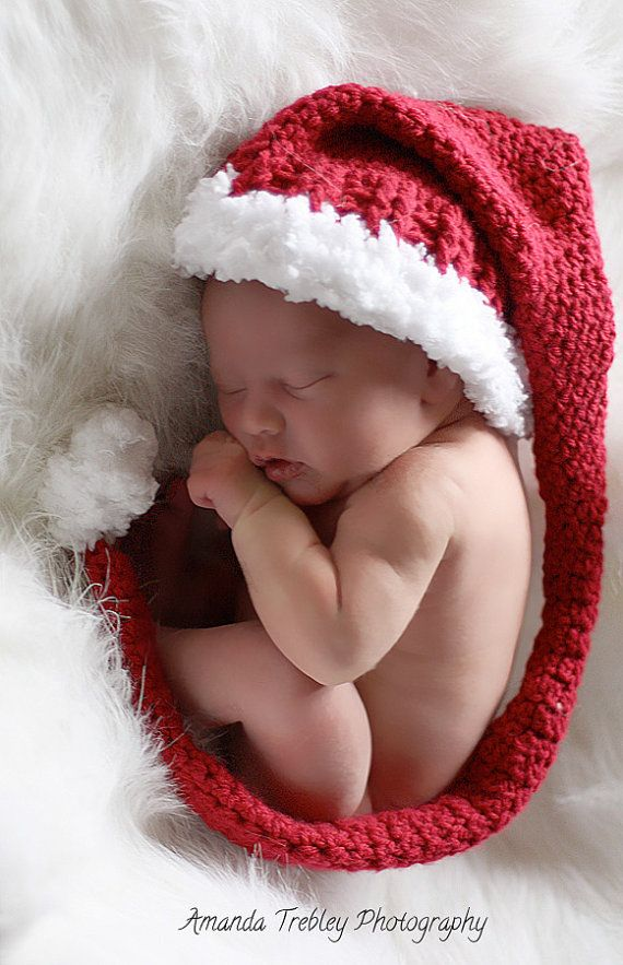 Newborn christmas family photo ideas
