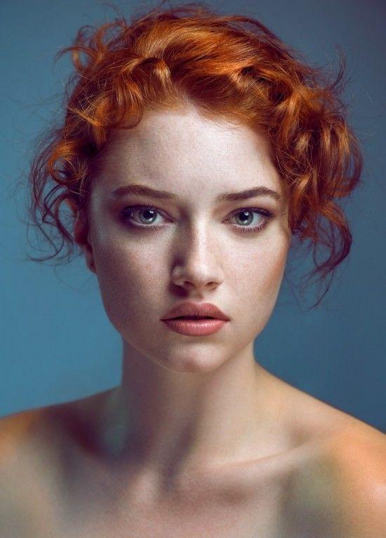 portrait photography inspiration woman portrait redhead