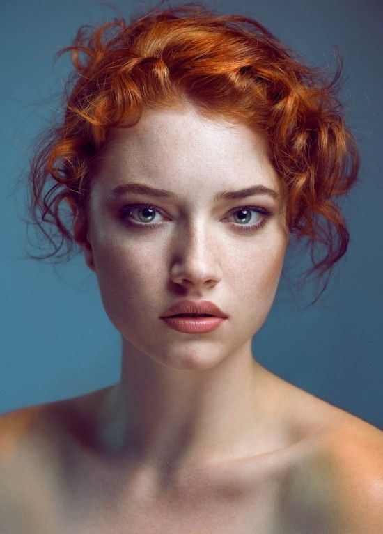 Portrait Photography Inspiration Woman Portrait Redhead Joanna Kustra