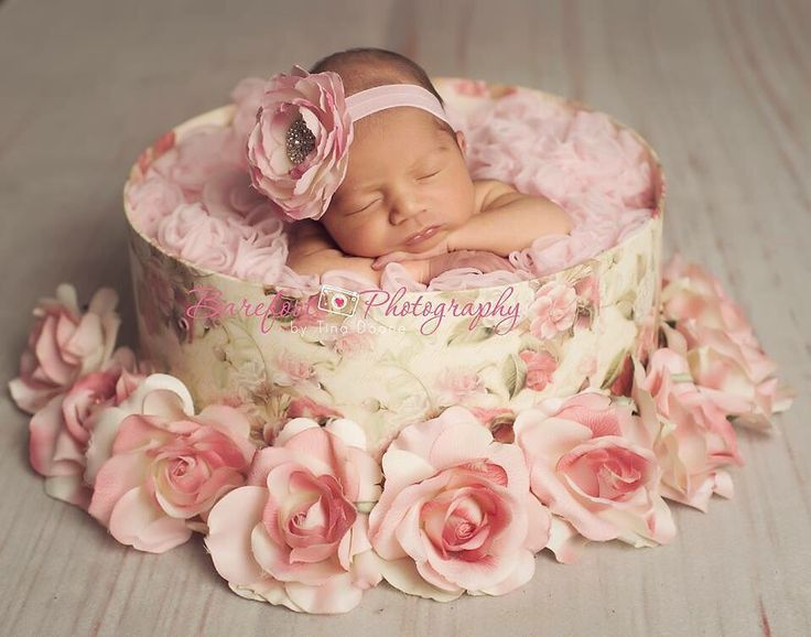 Description newborn baby girl